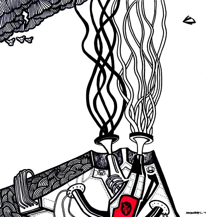 Cuadro # 110813 - Serie ARMATOSTES Ale Lopez